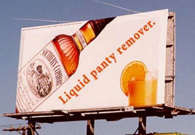 Billboard - Liquid Panty Remover