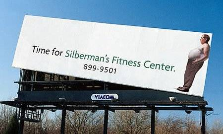Billboard Silberman's Fitness