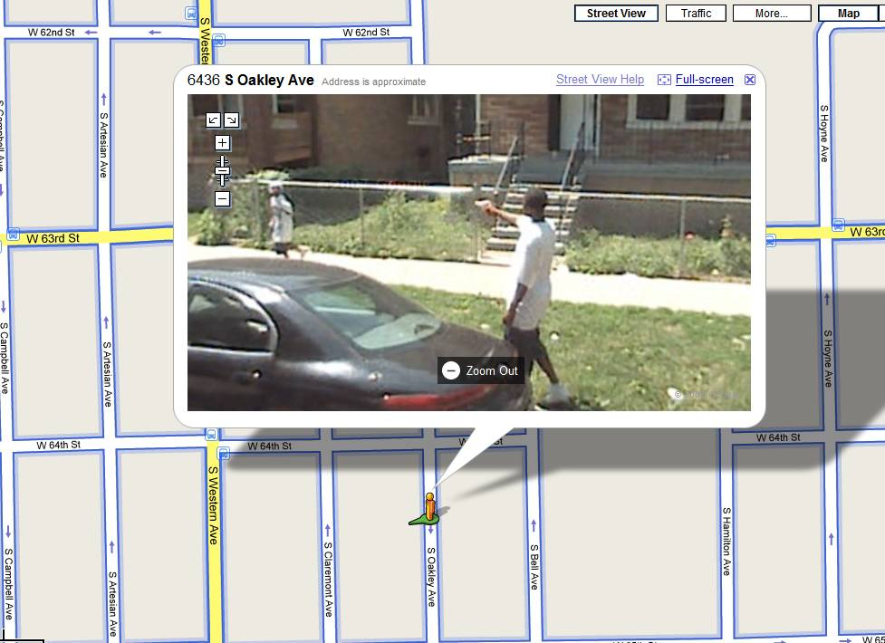 "Google Maps ""Street View"" Catches Shooter in Chicago"
