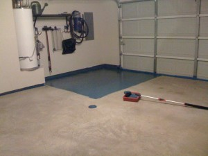 Sealing the Garage: Step 5