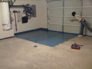 Sealing the Garage: Step 6