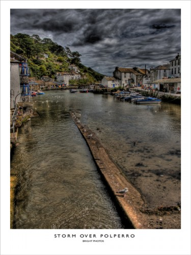 Storm Over Polperro