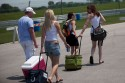 Chicks Rolling Coolers at the Indy 500 2010