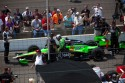GoDaddy Car at the Indy 500 2010