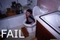 Kid in Toilet Fail