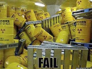 Nuclear Waste Fail