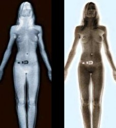 TSA Nude Body Scan Hot Chick