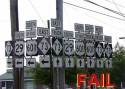Traffic Signs Fail