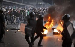 Police Response to Egyptian Protests