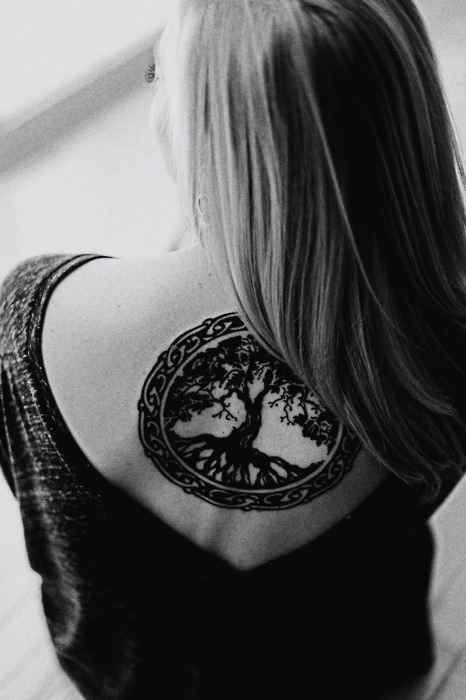 Celtic Tree Life Tattoo