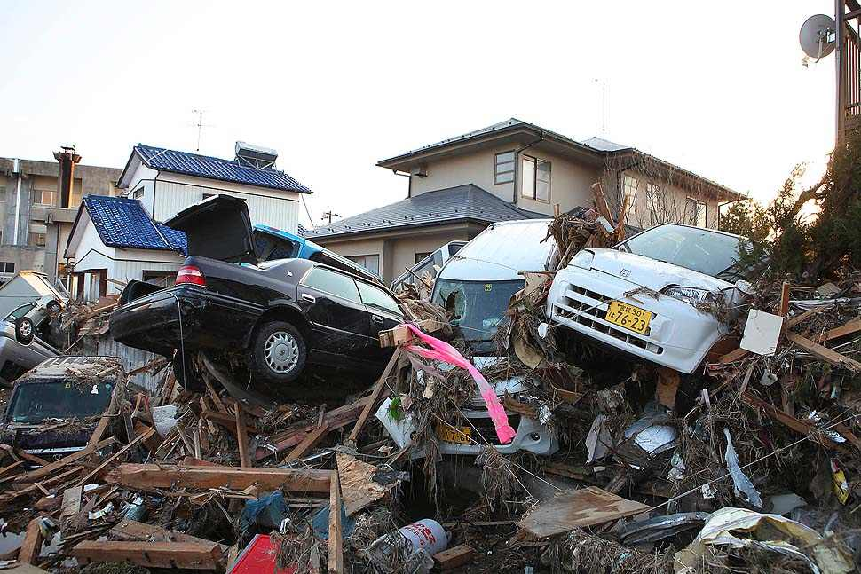 Japanese Tsunami Damage