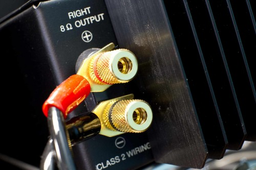 McIntosh MXA60 Speaker Terminals