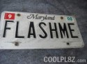 FLASHME License Plate
