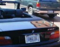Funny License Plate - Blond