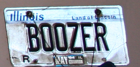 Funny License Plates - Boozer