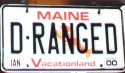 Funny License Plates - D-Ranged