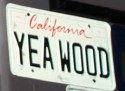 Funny License Plates - Yea Wood