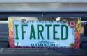 IFARTED License Plate