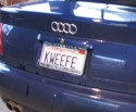 KWEEFE License Plate