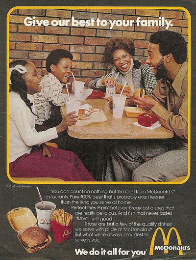 McDonald's Hamburgers for Health