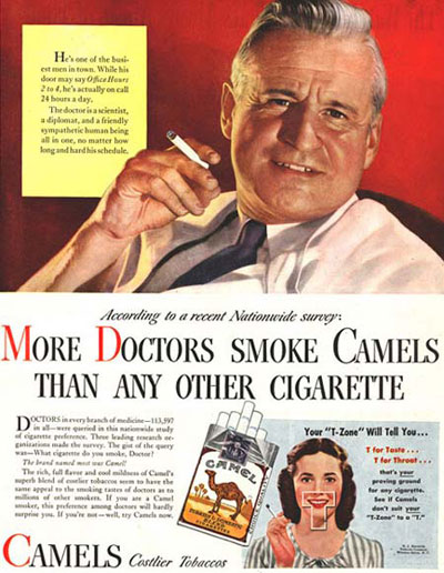 Cigarettes Cure the Sick