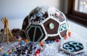 Snow Dome Gingerbread House