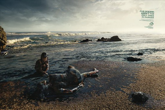 Surfrider Foundation Australia - Oil Spill Ad