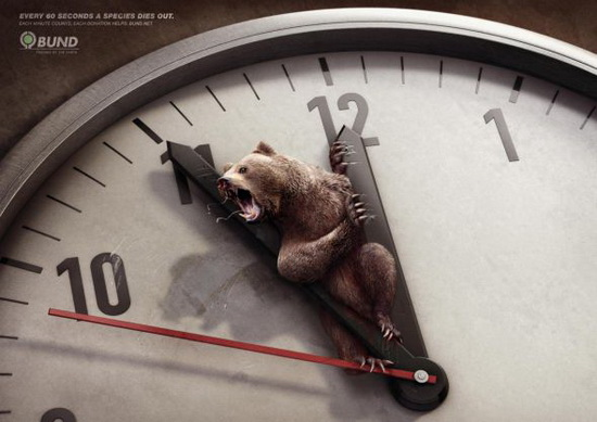 Bund: Brown Bear Time Running Out Ad