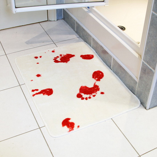 Blood Stained Bath Mat