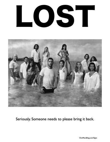 Funny Sign - Lost