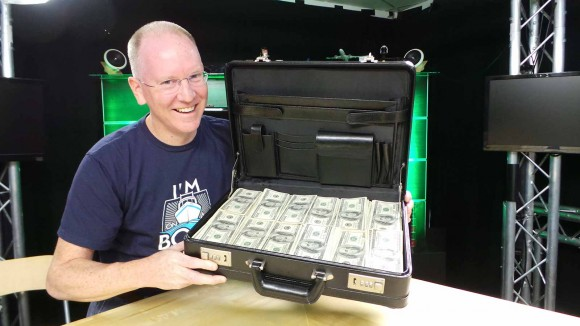 John P and the $1M Briefcase