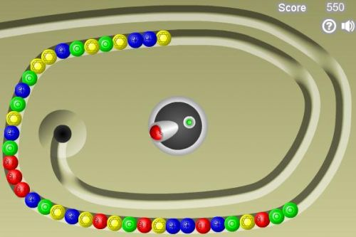 play marble lines online
