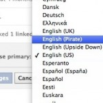 Facebook Now Speaks Pirate English! (Arrrggh!)