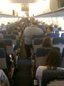 Fat Guy on Airplane