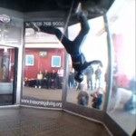 An Acrobat in the Air – Amazing Indoor Skydiving Video