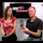 "Cali Lewis and I Play ""What's On Your Homepage"" with AppJudgement"