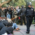 Police at UC Davis Pepper Spray Non-Violent Students