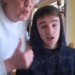 Dude Rapping To Rack City With Grandma!