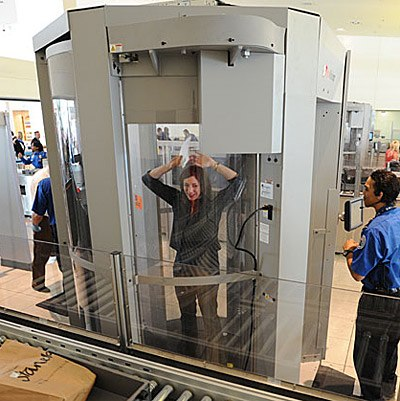 TSA Full Body Scanner
