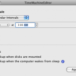 How to Change Time Machine's Backup Schedule
