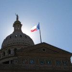 View of the Texas State Capital in Austin, TX