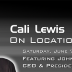 Cali Lewis Interview Rescheduled for Saturday at 2pm CST
