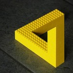 Impossible LEGO Sculptures and Optical Illusions