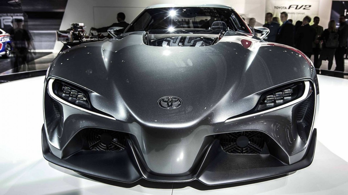 Toyota FT1 Front View