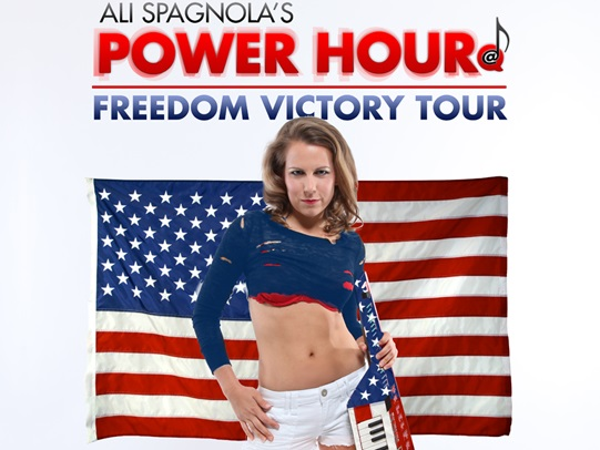 Ali Spagnola's Power Hour Freedom Victory Tour
