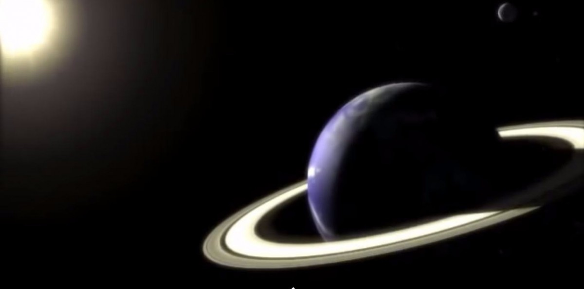 Earth with Rings