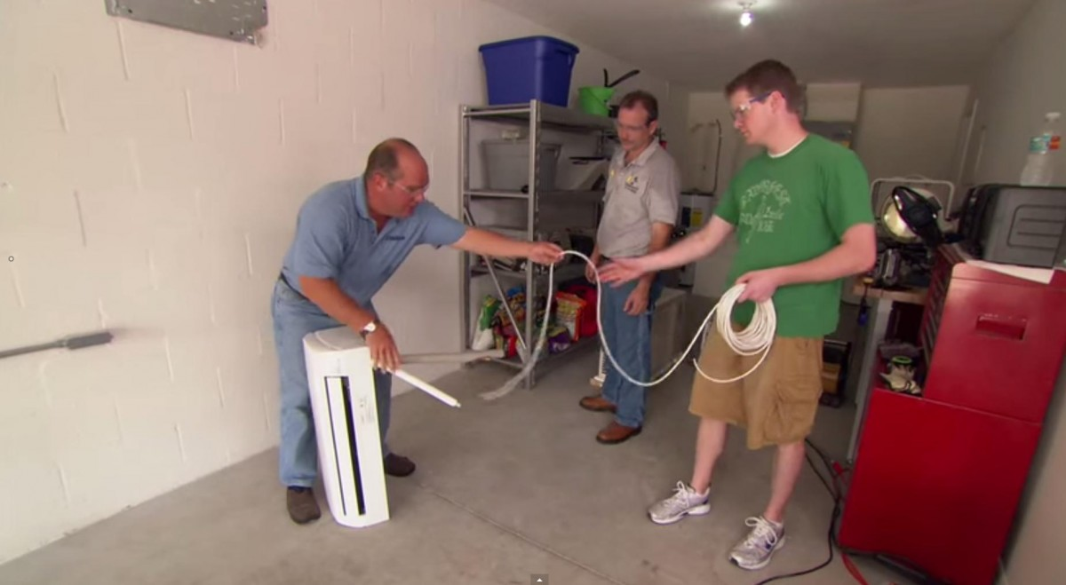 How to install a mini split air conditioner in garage