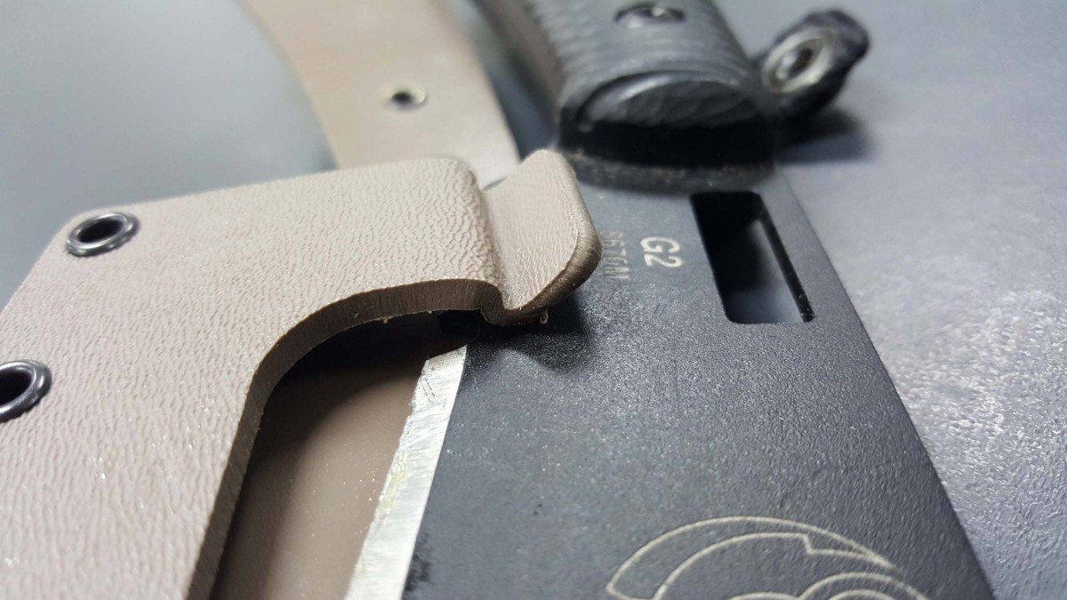 Southern Grind Grandaddy Sheath Locking Mechanism