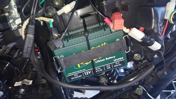 BTL14A240C Battery Installed