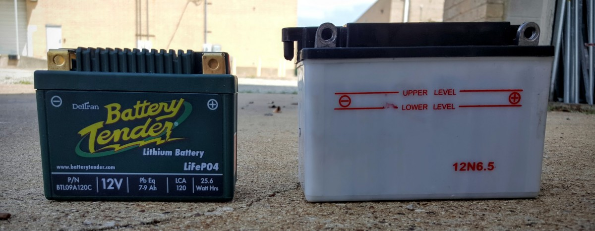 Hawk 250  Battery vs Battery Tender 2